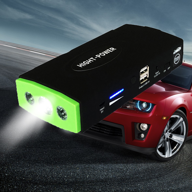 Portable Car Jump Starter 38000mah Power Bank Emergency Auto Battery Booster Pack Vehicle Jump Starter Booster Buster Led Light