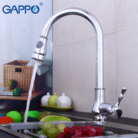 Gappo kitchen Faucets pull out kitchen drinking water faucet rotatable kitchen water sink mixer tap deck mounted armatur