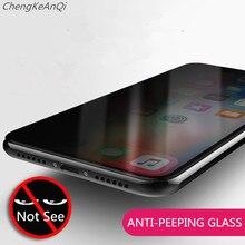 9H Full Cover Privacy Tempered Glass For Huawei Honor V20 10 Lite V10 V9 Lite 8X