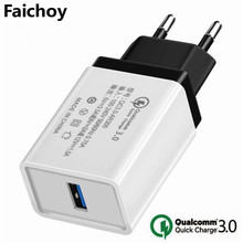 Quick Charge 3.0 USB EU/USA Plug Charger Travel Wall 5V 3.5A Fast Charge Adapter For iphon