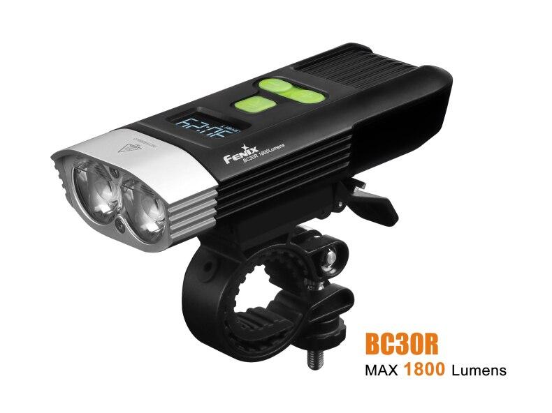 NEW Fenix BC30R Cree XM L2 U2 LED high intensity bike light USB charger build in