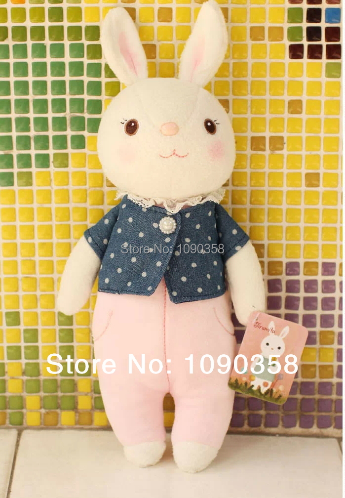 Free shipping hot sales easter gift cute rabbit bunny doll cowboy free shipping hot sales easter gift cute rabbit bunny doll cowboy style series in stuffed plush animals from toys hobbies on aliexpress alibaba negle Gallery