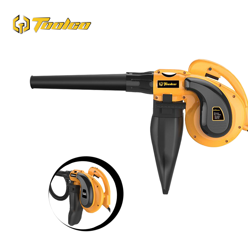Toolgo 1080W Electric Air Blower Vacuum Blowing Dust Collector Hand leaf Blower 2 in 1 Fan Computer Cleaner