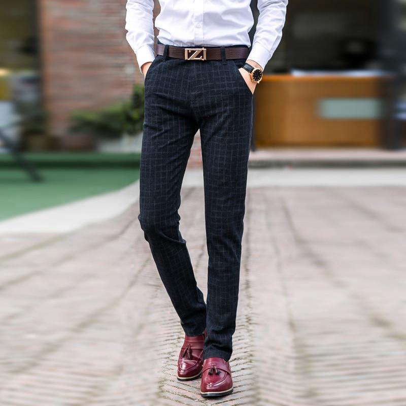 New-England-plaid-pants-dress-pants-men-High-Quality-Stretch-sanding-male-trousers-men-s-winter (6)