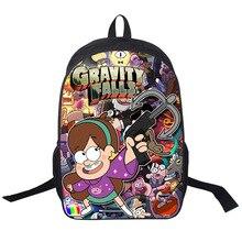 Anime gravité tombe sac à dos pour les adolescents enfants sac à dos garçons filles sacs d'école cinq nuits à la Freddy Chica balancier Mabel sac
