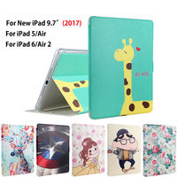 Fashion Tablet Funda Case For New IPad 9 7 2017 A1822 Cover For Ipad Air 1