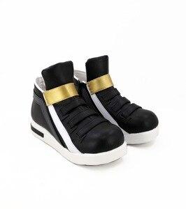 Image 5 - Обувь для косплея игры LOL KDA Akali, сапоги для косплея Akali для взрослых, женская черная обувь