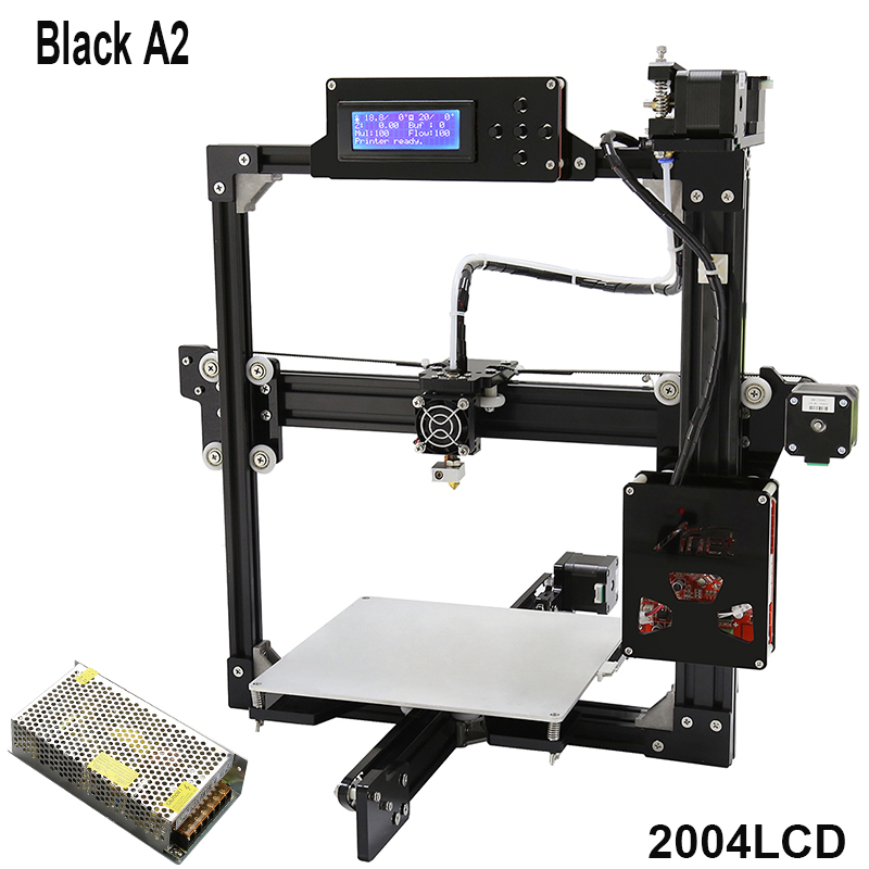 Anet A2 3d printer DIY Kits High Accuracy Full metal frame structure ...