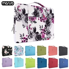купить MOSISO 13 13.3 inch Laptop Bag Sleeve Waterproof Notebook Bag For Macbook Air 13 Computer Carrying Pouch for Xiaomi HP Dell Acer дешево