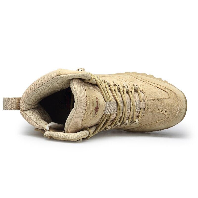 Botas Segurança sandy Sapatos Marca Masculinas Combate Chukka Tornozelo Masculinos Boots Bot Grande Serena Exército Mens Motocycle Tamanho De Do Black Militar Tático Novo Boots 5S7UxBnw