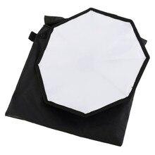 30 см Мини Универсальный вспышка speedlite Softbox Диффузор для Вспышки Фото фотостудия Octagon