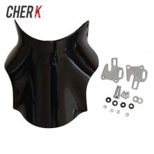 Cherk мотоцикла черный лобовое стекло для Honda Hornet CB400 CB600 CB750 CB900 CB919 CB250 CB 400 600 750 900 919 250