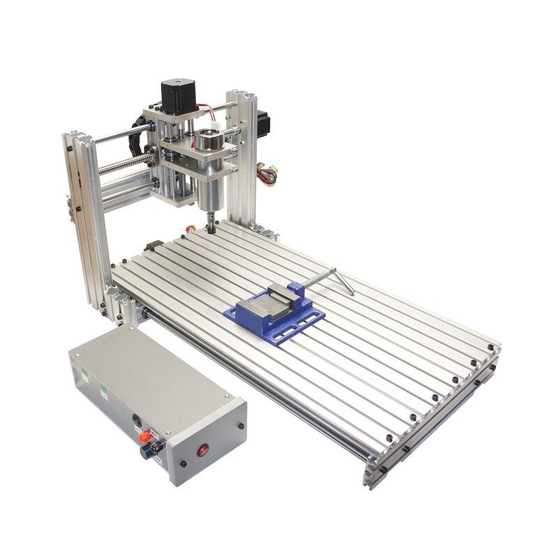 Bricolage CNC Machine de gravure 6020 métal CNC routeur gravure forage fraiseuse pour le traitement modélisation décoration créative