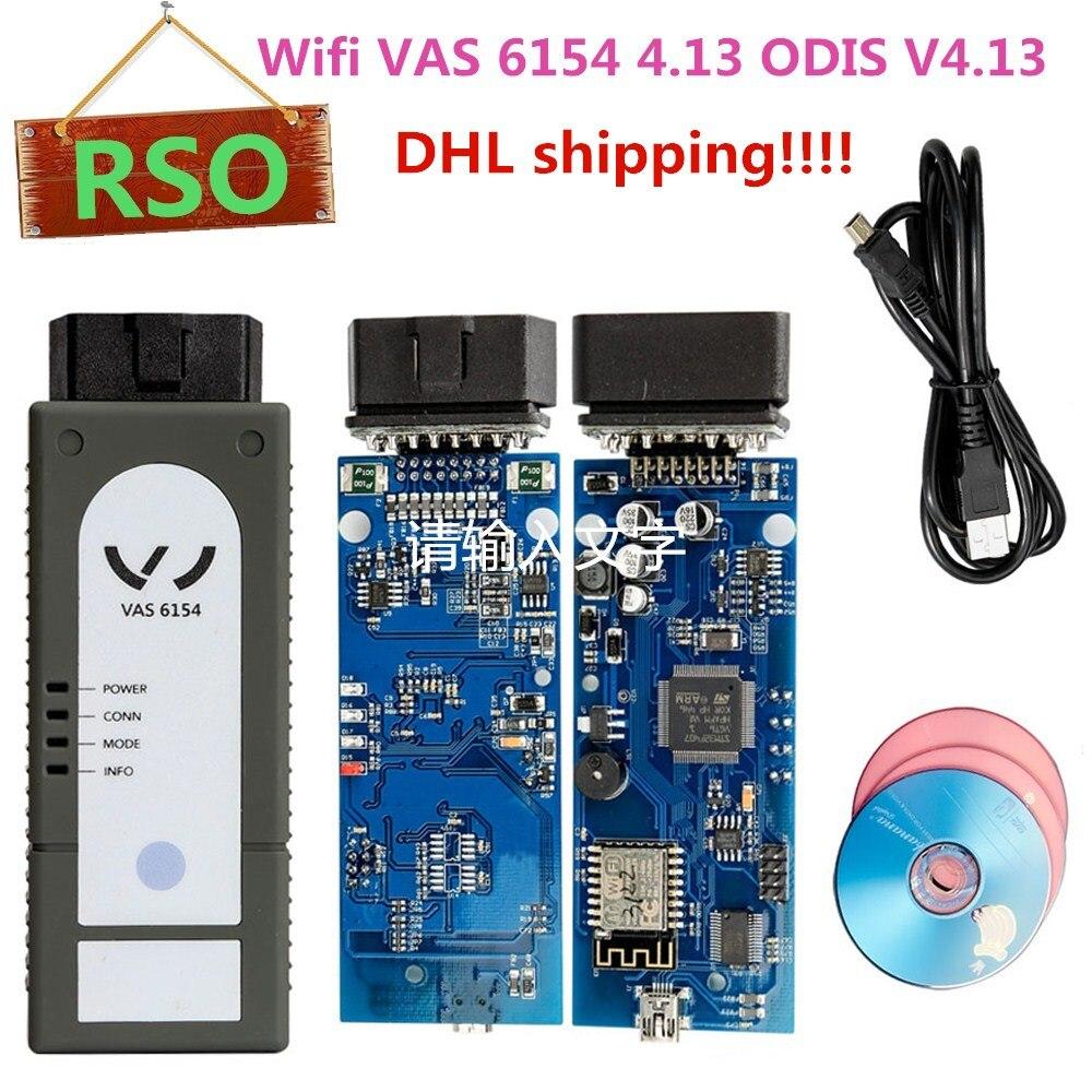 Best VAS 6154 4.13 ODIS V4.13 VAS6154 VAG Diagnostic Tools For Audi Better Than VAS5054 A Support UDS Protocol