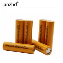 ФОТО 6PCS  sanyo 18650 Rechargeable Batteries Li-lon battery Lithium 37v ICR18650 battery  mobile power Camera Flashlight