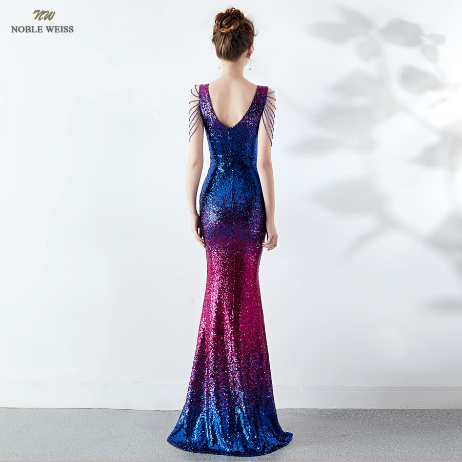 prom dresses 2019 v neck prom dress sexy sequin vestidos de gala zipper back mermaid floor