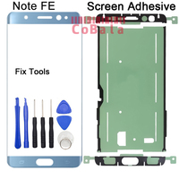 LOVAIN 1Pcs Genuine Original For Samsung Galaxy Note FE N935 N935K Front Glass 5 7 Touch