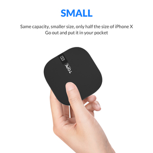 Image 2 - TOPK Mini Power Bank 10000mAh Charger Portable Powerbank External Battery Pack Dual USB Charger Poverbank for iPhone Xiaomi Mi 9