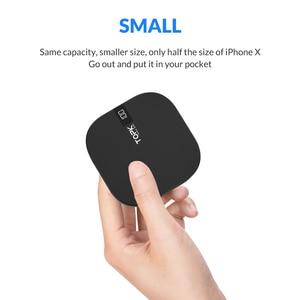 Image 2 - TOPK mi ni Power Bank 10000mAh cargador portátil batería externa paquete Dual USB cargador Poverbank para iPhone Xiaomi mi 9