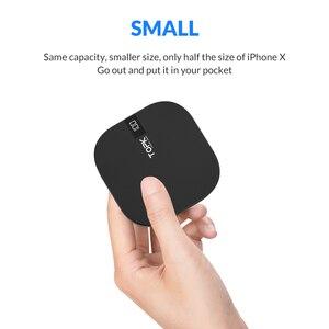 Image 2 - TOPK mini Powerbank 10000mAh ładowarka przenośny Powerbank zewnętrzny zestaw akumulatorów ładowarka z podwójnym portem usb Poverbank dla iPhone Xiao mi mi 9