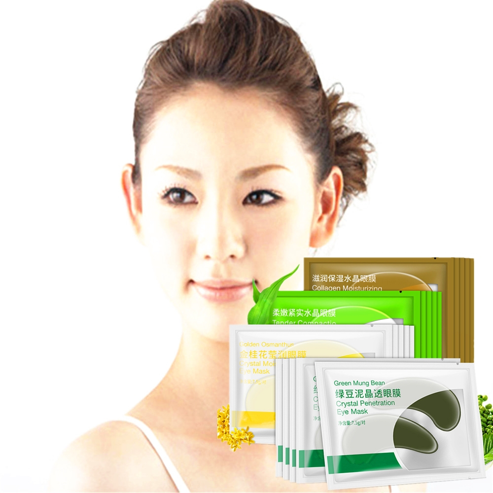 Creams Disaar New Mung Bean Essence Eye Mask For Eye Skin Care Anti-agin Fast Remove Dark Circles Puffy Eye Patch 2pcs/bag An Indispensable Sovereign Remedy For Home Eyes