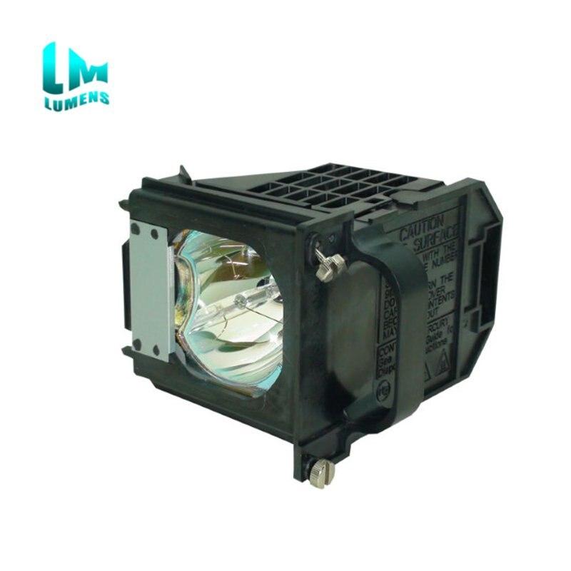 TV lampe ampoule de projecteur de projection Arrière 915P061010 avec boîtier pour Mitsubishi WD-57733 WD-57734 WD-57833 WD-65733 WD-65734