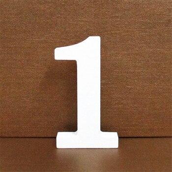 1pc 10CMX10CM White Wooden Letter English Alphabet DIY Personalised Name Design Art Craft Free Standing Heart Wedding Home Decor 3
