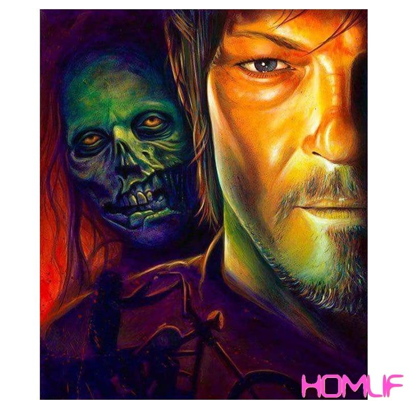 diamond painting The Walking Dead Christmas Gifts diamond ...