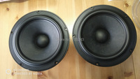 pair Melo david audio Vifa NE225W 08 8inch midbass woofer speaker 8ohm 150W