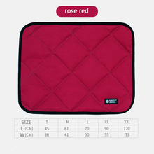 Dog Sleeping Mattress in Winter Plus Size Pet Mat Bite-resistant Waterproof Dog Cage Mat Cat in Autumn and Winter 2019 Natural