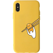 Yellow Gudetama iPhone Case for  iPhone 8 7 6 6S Plus X XS XR XS MAX