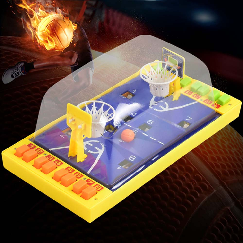 Parent-child Mini Basketball Table Games Portable Children's Desktop Puzzle Toy Small Gift Table Basketball Kids Education Toys