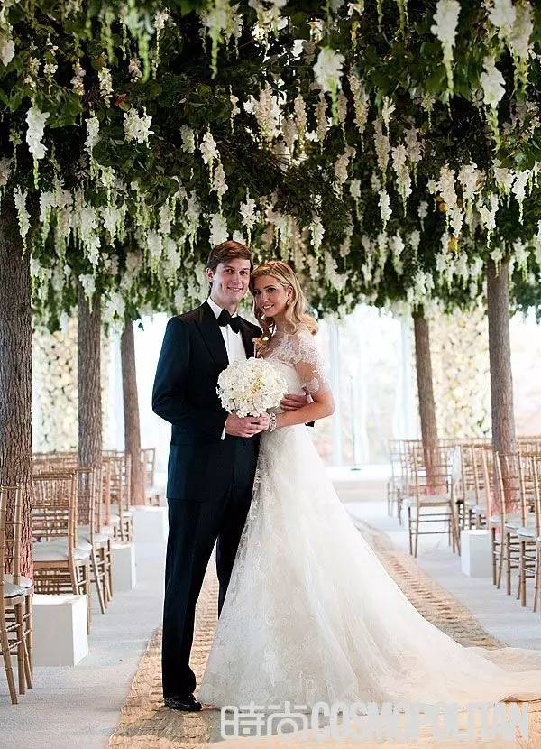 Ivanka Trump Wedding Dress Inspired by Grace Kelly\'Modest Design ...