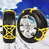 1PC Winter Truck Car Snow Chain Tire Anti Skid Belt Easy Installation Auto Maintenance Care