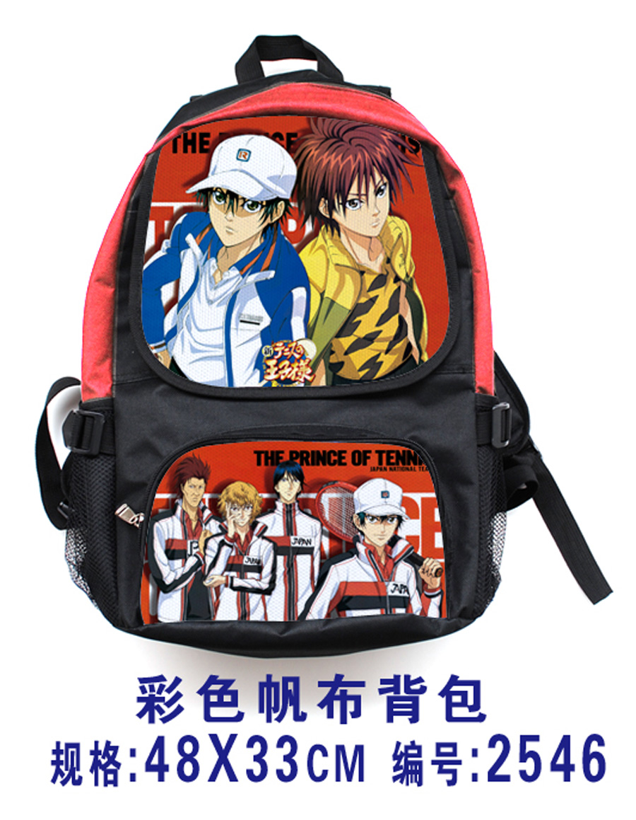 Anime The New Prince of Cosplay Ryoma Echizen Cos Shoulder bag male and female student canvas backpack birthday gift