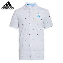 Original New Arrival  Adidas PL SMALL AOP Men's POLO shirt short sleeve Sportswear