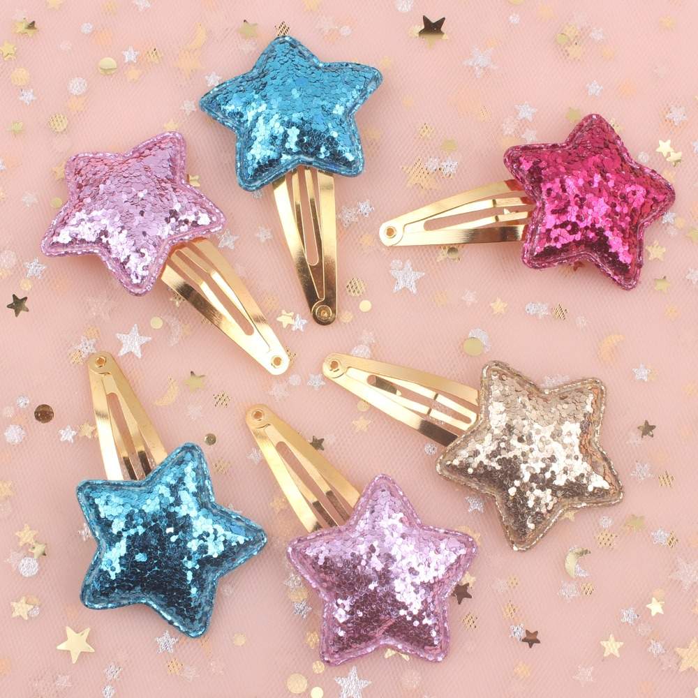 Hair Accessories For Kids Clip Women Barrettes 1pcs pink Red Sky Blue Purple 2019 New Fruit Cherry Girls Gold Bb Hairpin