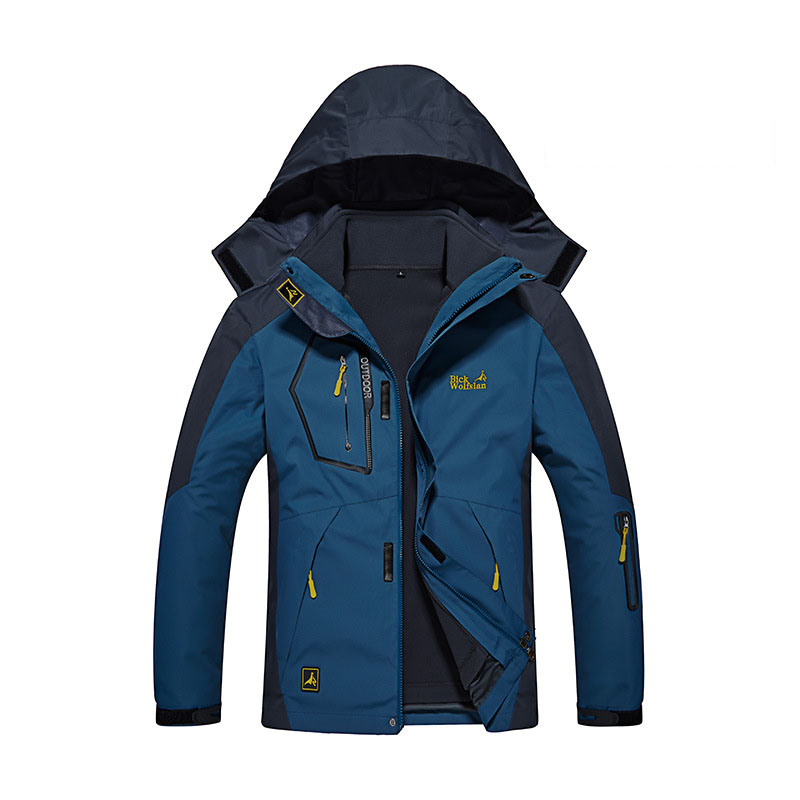 -30 Degree Super Warm Winter Ski Jacket Men Waterproof Breathable Snowboard Snow Jacket Outdoor Skiing 3 IN 1 Sports Clothes