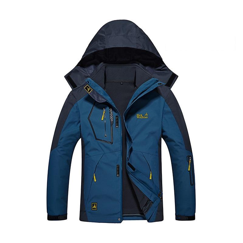-30 graus super quente inverno jaqueta de esqui dos homens impermeável respirável snowboard neve jaqueta de esqui ao ar livre 3 em 1 grande tamanho roupas