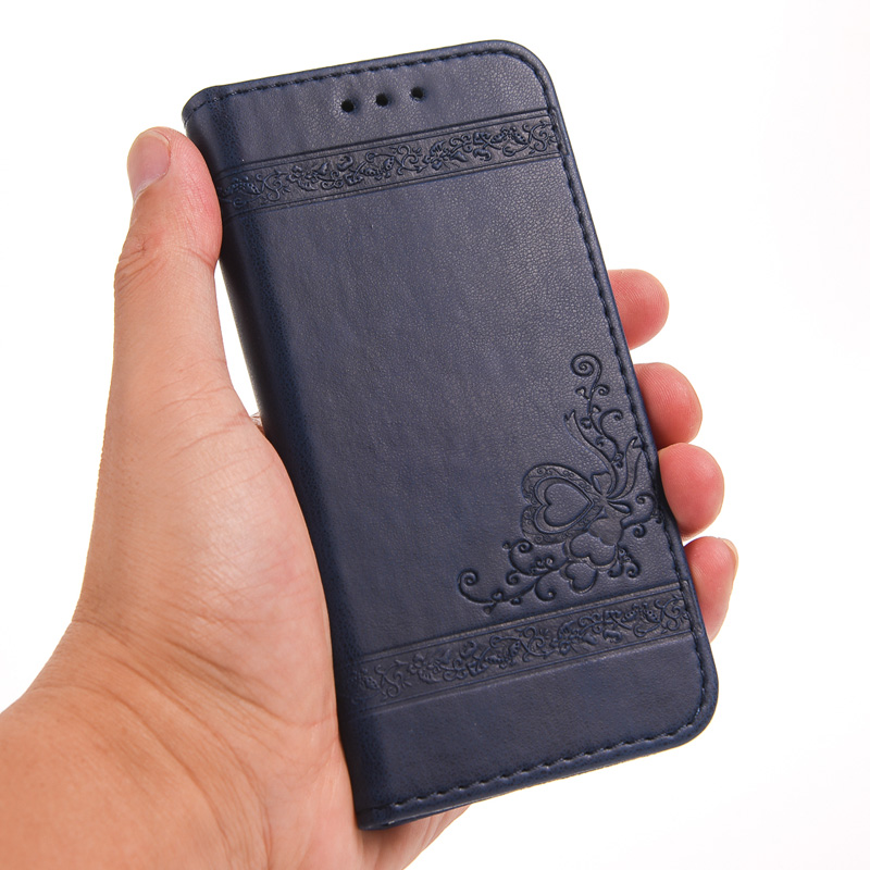 EFFLE Blackberry Z20 Case Brand New Retro Magnetic Flip Leather Wallet  Stand Cover Blackberry Leap Z20 With Card Slots