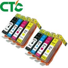 8 PACK 655 655xl Ink Cartridge For currency Deskjet Ink Advantage 3525 4615 4625 5525 6525 цена 2017