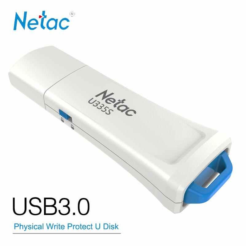 Netac USB Flash Drive 16GB 32G 64GB 128GB USB3 0 Physical