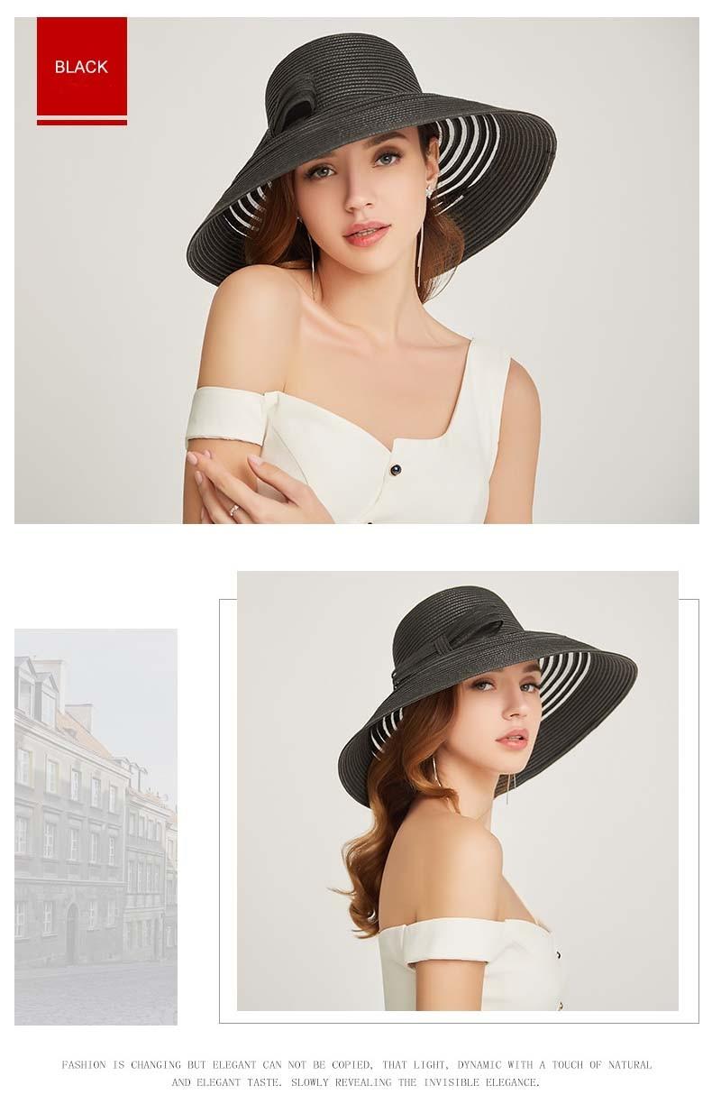 elegant women summer hat