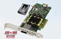 RaidStorage Adaptec RAID 5445Z P/N: 2267000-R ASR-5445Z 4-Port 3 Gb/Sn PCIe Denetleyici SAS Kartı