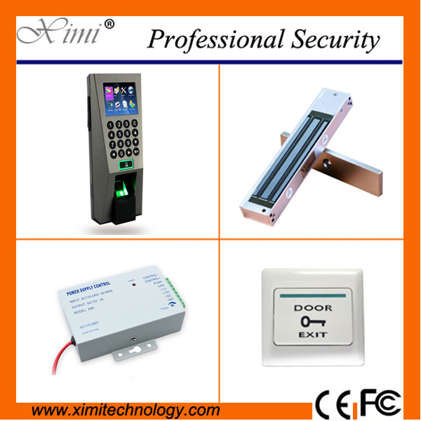 ZK door access control system F18 biometric fingerprint time attendance Webserver tcp/ip access controller kits