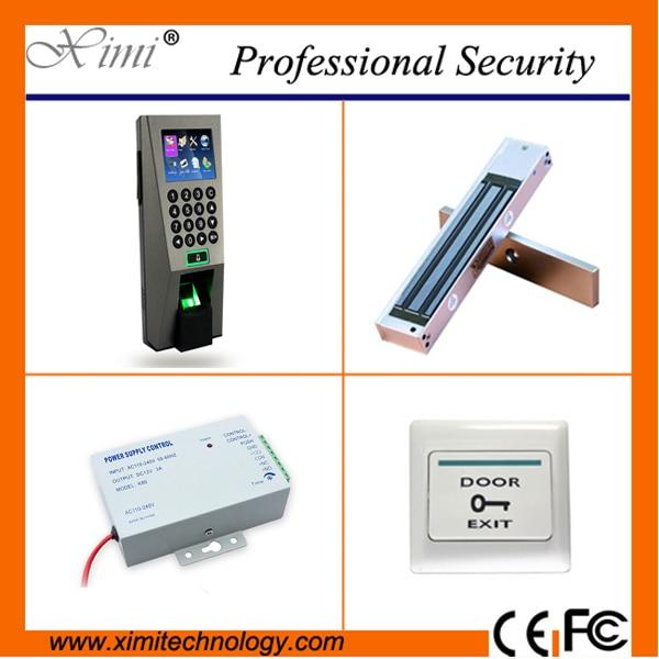 ZK door access control system F18 biometric fingerprint time attendance Webserver tcp/ip access controller kits