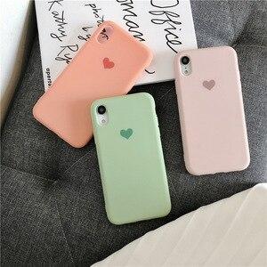 Image 3 - Простой мягкий чехол для телефона силиконовый плотный чехол для iphone XR XS MAX 6 7 8 Plus грязеотталкивающий противоударный с бесплатным ремешком подарок горячий