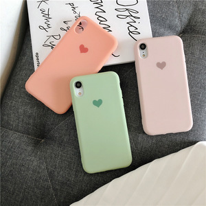 Image 3 - Plain Phone case Soft Silicone fitted case For iphone XR XS MAX 6 7 8 Plus dirt resistant  anti knock with free strap gift Hot