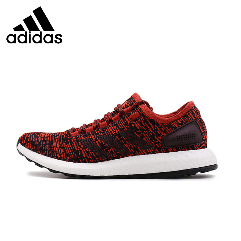 812046be998c ADIDAS Pure Boost Mens Running Shoes Mesh Breathable Stability Support  Sports Sneakers For Men Shoes S81997 S81995-in Running Shoes from Sports ...