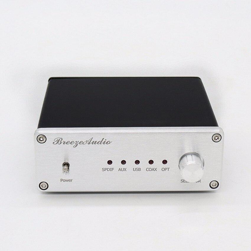 Unterhaltungselektronik Energisch Gao-u8 Audio Decoder Xmos Ak4490 & Ak4118 Dac Unterstützung Koaxial Optische Usb Eingang Rca Ausgang 192 K/24bit